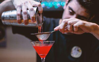 Bar à cocktails show